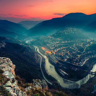 Balkan Mountains, Bulgaria, Iskar River