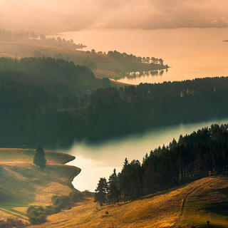 Bulgaria, Dospat Lake, Rhodope Mountains