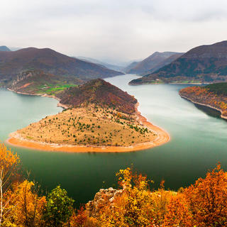 Bulgaria, Kardzhali Lake, Rhodope Mountains