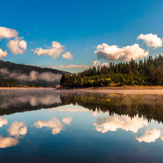 Bulgaria, Golyam Beglik Lake, Rhodope Mountains