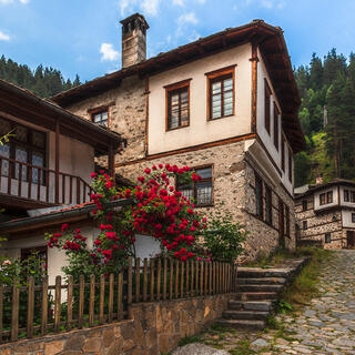 Bulgaria, Rhodope Mountains, Shiroka Laka